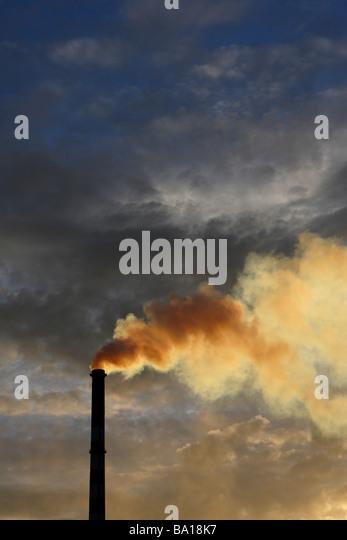 Chimney stack - Stock Image