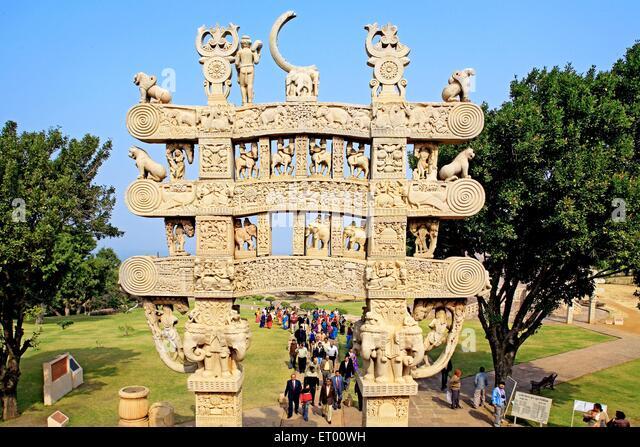 Category:Sanchi gateways : North gateway of stupa 1