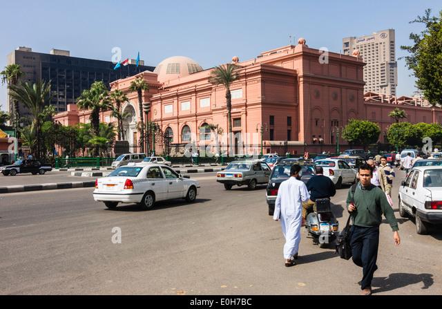 Museum of Egyptian Antiquities, Cairo, Egypt - Stock Image