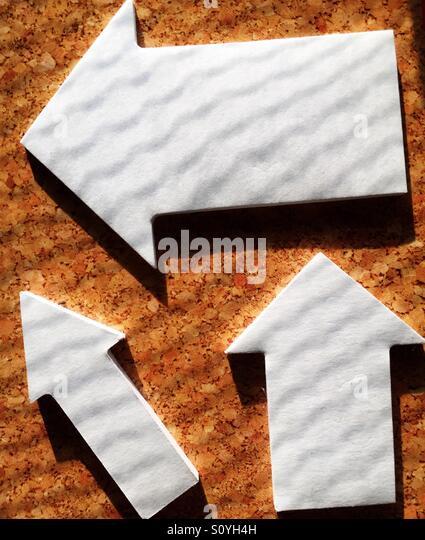 Arrows - Stock Image