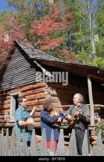 Georgia Hiawassee Georgia Mountain Fairgrounds Fall Festival Southern Appalachian heritage folklore rural lifestyle - Stock Image