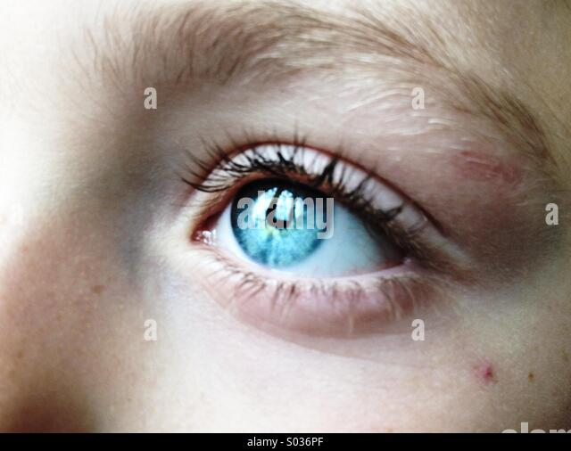 Eyes child - Stock-Bilder