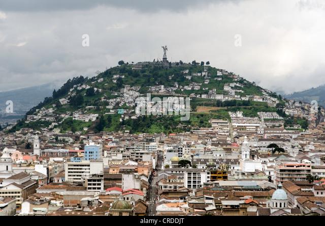 Quito Ecuador - Stock Image