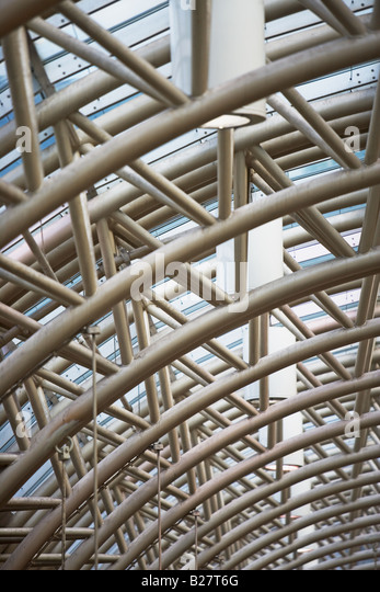 Low angle view of building structure - Stock Image