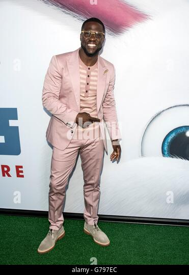 New York, NY, USA. 25th June, 2016. Kevin Hart at arrivals for THE SECRET LIFE OF PETS Premiere, David H. Koch Theater - Stock Image