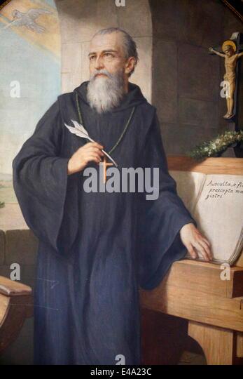 St Benedict of Nursia Saint Benedictines Founder Western Monasticism Catholic Saints Umbria 2012 Movie free download HD 720p