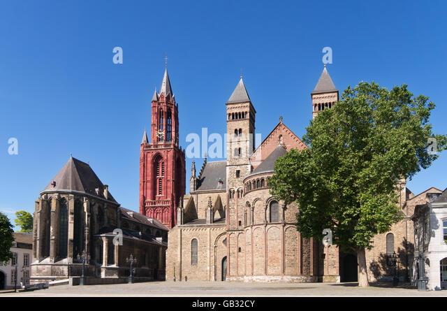 Basilica saint servatius st johns stock photos basilica saint servatius st johns stock images - Maastricht mobel ...