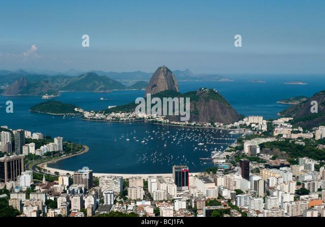 Rio de Janeiro, Sugarloaf mountain - Stock Image