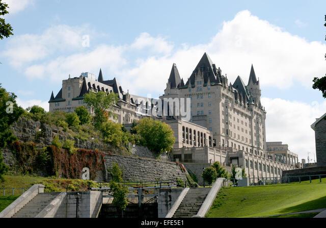 Fairmont Chateau Laurier Hotel - Stock-Bilder