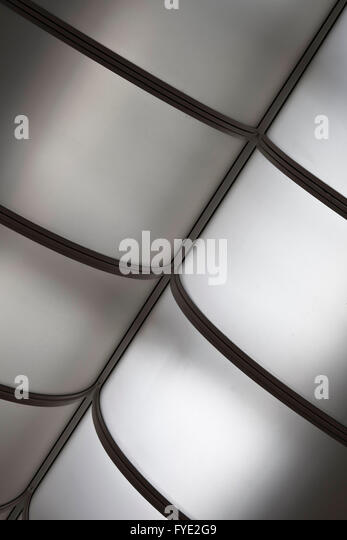 Geometric structure in gray tones - Stock Image