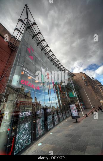 Edinburgh Festival Theatre Nicholson St - Stock Image