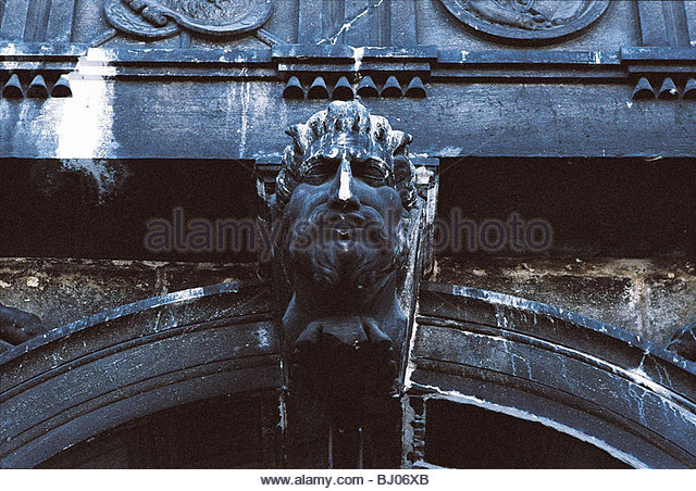 Sculpture in the Procuratie Nuove, St Mark?s Square, Venice, Italy - Stock-Bilder