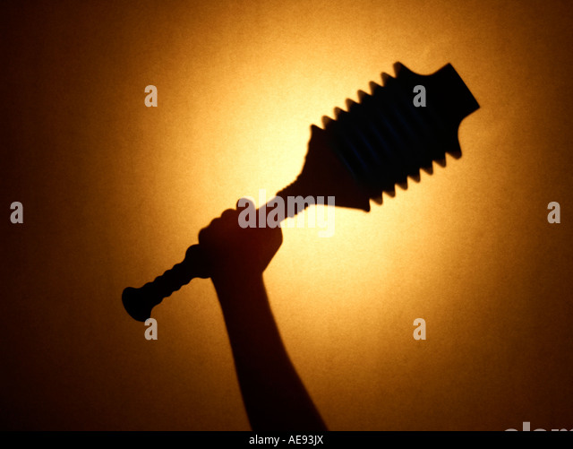 Plunger Hand - Stock Image