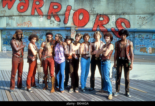 THE WARRIORS (1979) DORSEY WRIGHT, MARCELINO SANCHEZ, DAVID HARRIS, TOM MCKITTERICK, JAMES REMAR, TERRY MICHOS, - Stock Image