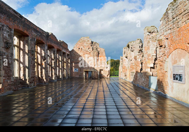 Rufford; Abbey; 12th; century; Ollerton; Nottinghamshire; UK; - Stock Image