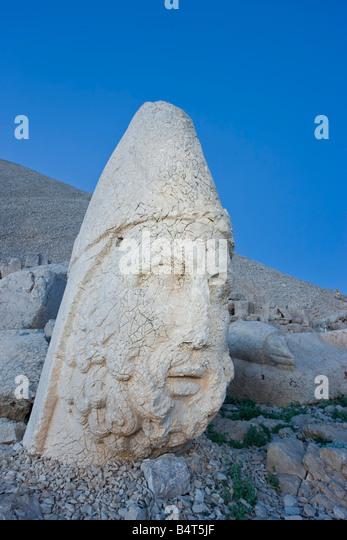Nemrut head anatolia stock photos