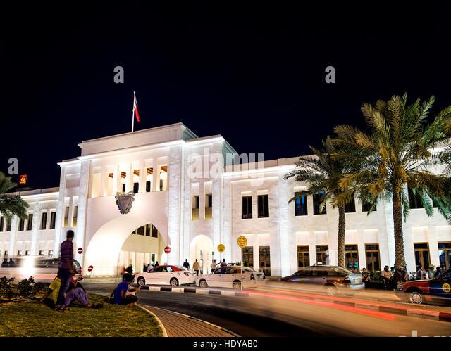 bab al bahrain landmark in manama bahrain - Stock Image