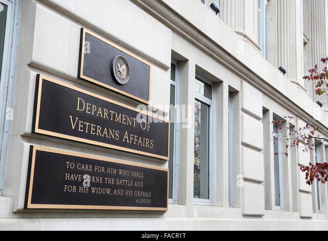 Department of Veterans Affairs building, Washington DC - Stock Image