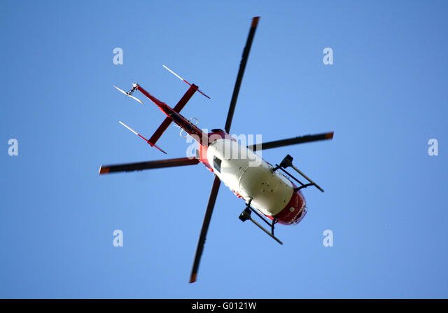 Helicopter - Stock Image