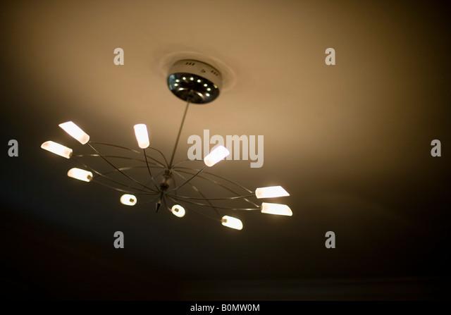 Modern Ceiling Lights Nz : Halogen light ceiling stock photos