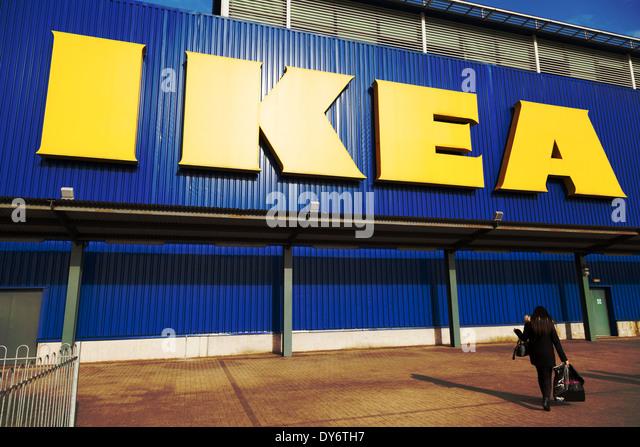 Ikea store uk stock photos ikea store uk stock images for Ikea exterior