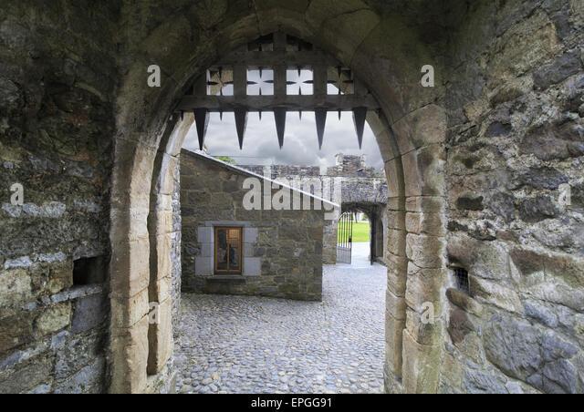 Cahir Castle - Stock Image