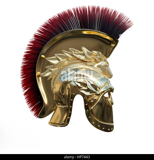how to make a greek helmet