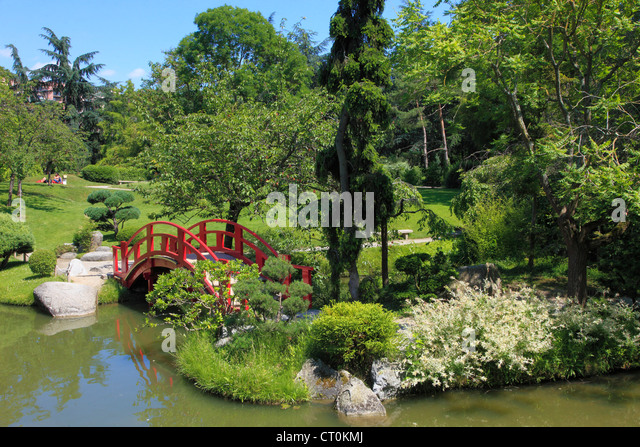Jardin japonais stock photos jardin japonais stock images alamy for Jardin royal toulouse