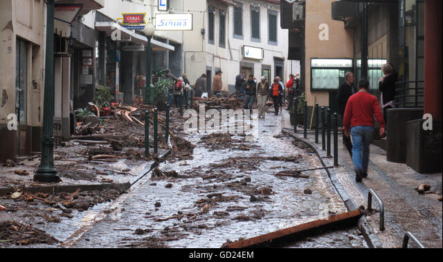 Madeira disaster blamed on chaotic urban