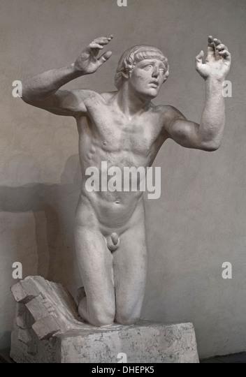 Orphee - Orpheus ( Greek myth of Orpheus ) 1912 Marc Leriche 1885 - 1918  France French - Stock Image