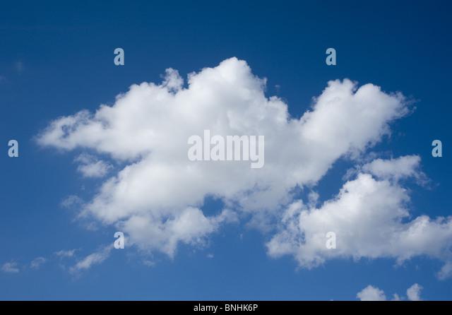 Blue Sky and Clouds - Stock-Bilder