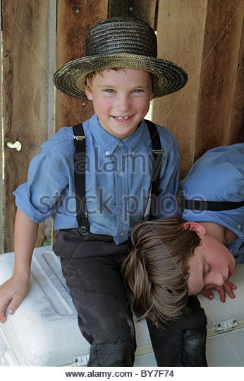 Pennsylvania Kutztown Kutztown Folk Festival Pennsylvania Dutch folklife Amish heritage religion tradition custom - Stock Image