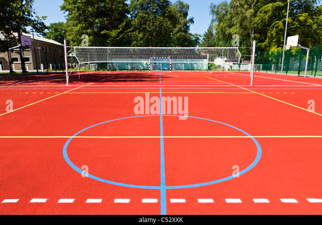 Sports complex - Stock Image
