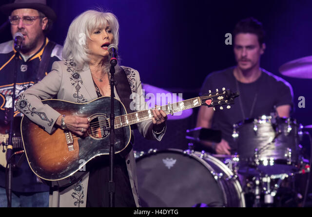 Emmylou Harris performs at the 2016 We're All for the Hall benefit concert benefiting the Country Music Hall of - Stock Image