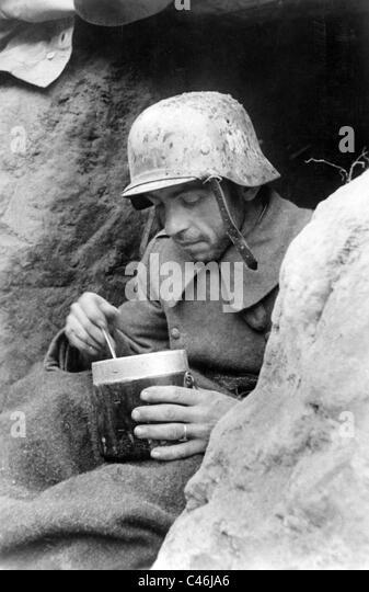 Second World War: Battles near Rzhev, 1942 - Stock Image