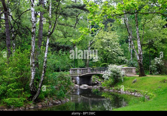 Poland, Warsaw, Ujazdowski Park - Stock Image