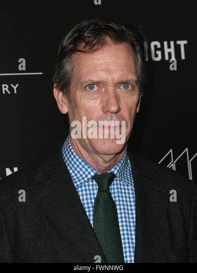 Los Angeles, California, USA. 5th April, 2016. Hugh Laurie. Premiere Of AMC's ''The Night Manager'' - Stock Image