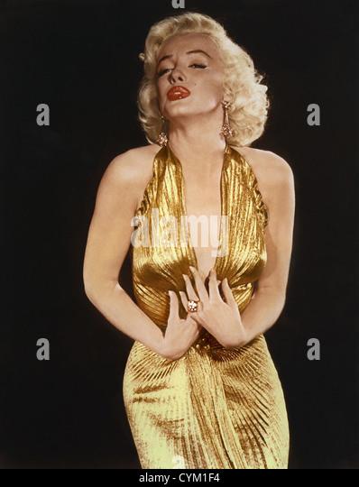 Marilyn Monroe Gentlemen Prefer Blondes 1953 Director: Howard Hawks - Stock Image