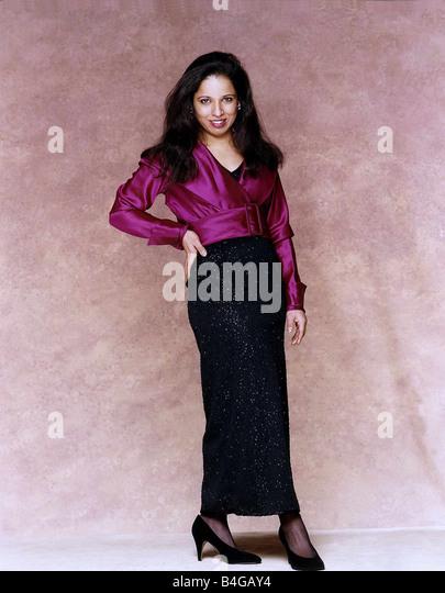 Shobu Kapoor Actress who plays Gita in the BBC Soap opera Eastenders - Stock Image