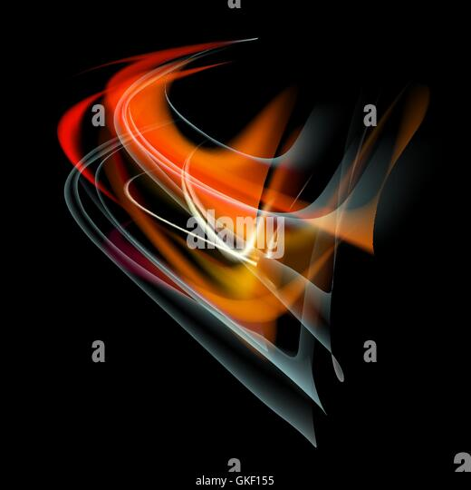 Burn flame fire vector abstract background - Stock-Bilder