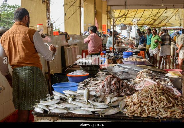 Kerala market stock photos kerala market stock images for Cherry street fish market