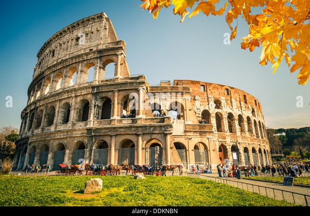 Colosseum in Rome - Stock-Bilder