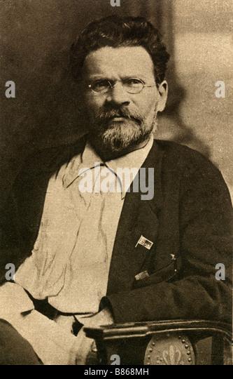 Mikhail Ivanovich Kalinine - Stock Image
