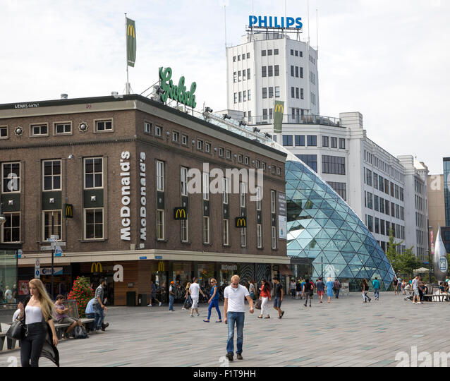 Philips Light Tower In Eindhoven: Eindhoven Netherlands City Stock Photos & Eindhoven