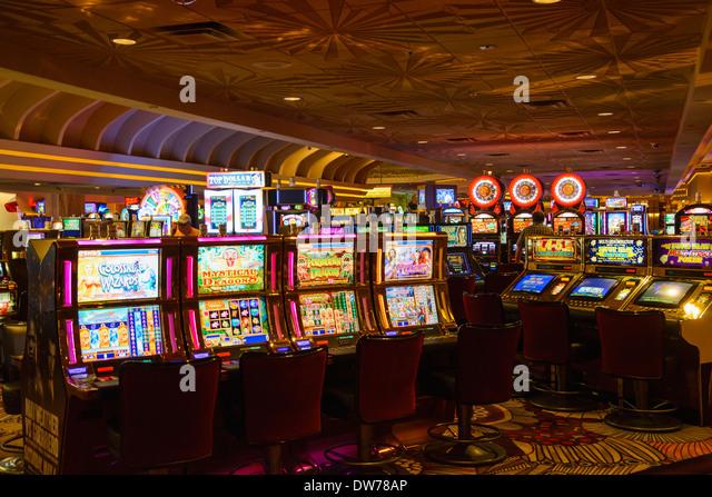 MGM Grand Casino, Las Vegas, Nevada, USA - Stock Image