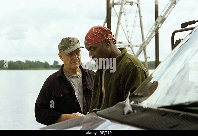 GENE HACKMAN & DELROY LINDO HEIST (2001) - Stock Image