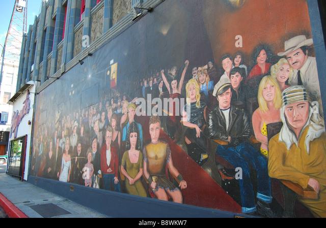 hollywood star mural stock photos amp hollywood star mural iyp hollywood