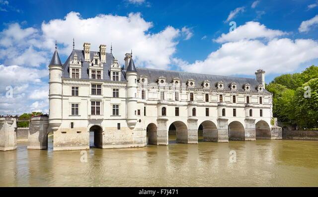 Chenonceau Castle, Chenonceaux, Loire Valley, France - Stock-Bilder