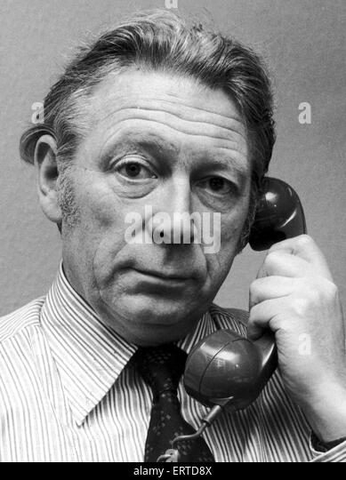 Geoffrey Goodman, Daily Mirror Industrial Correspondant. 30th December 1976 - Stock Image