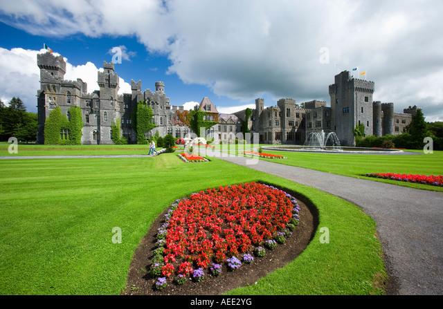 Ireland Co Mayo Ashford Castle - Stock-Bilder